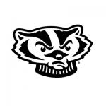 Bucky Badger's head